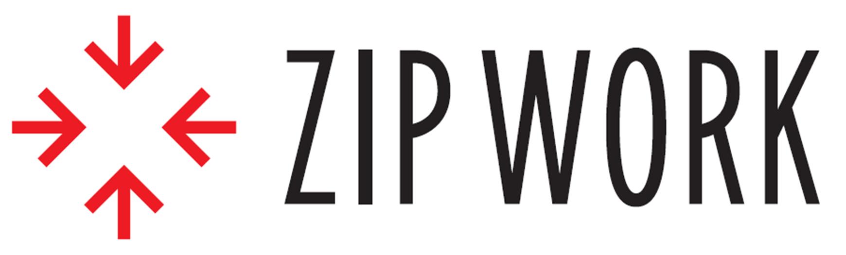リクルートのZIP WORKのロゴ