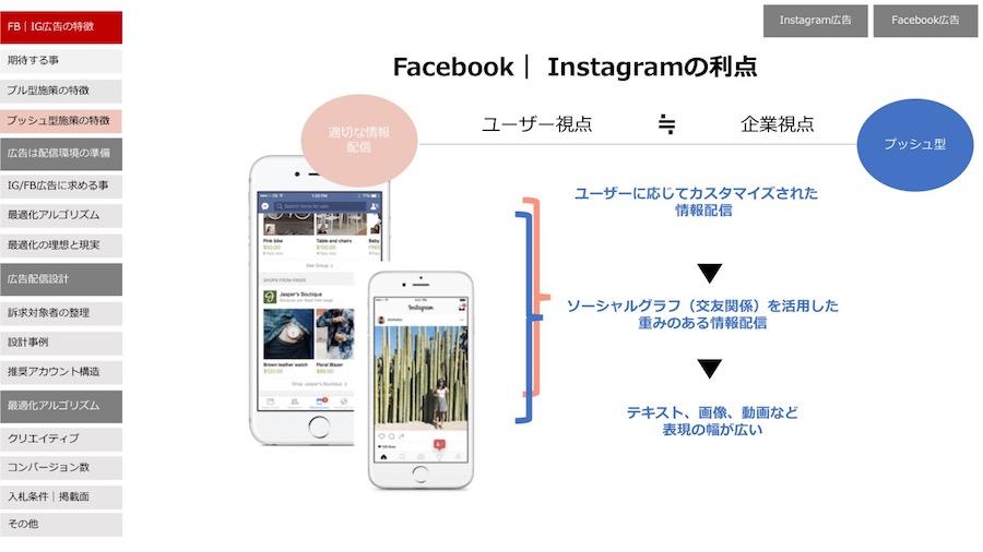 FacebookやInstragramなどのSNS系運用型広告の特徴
