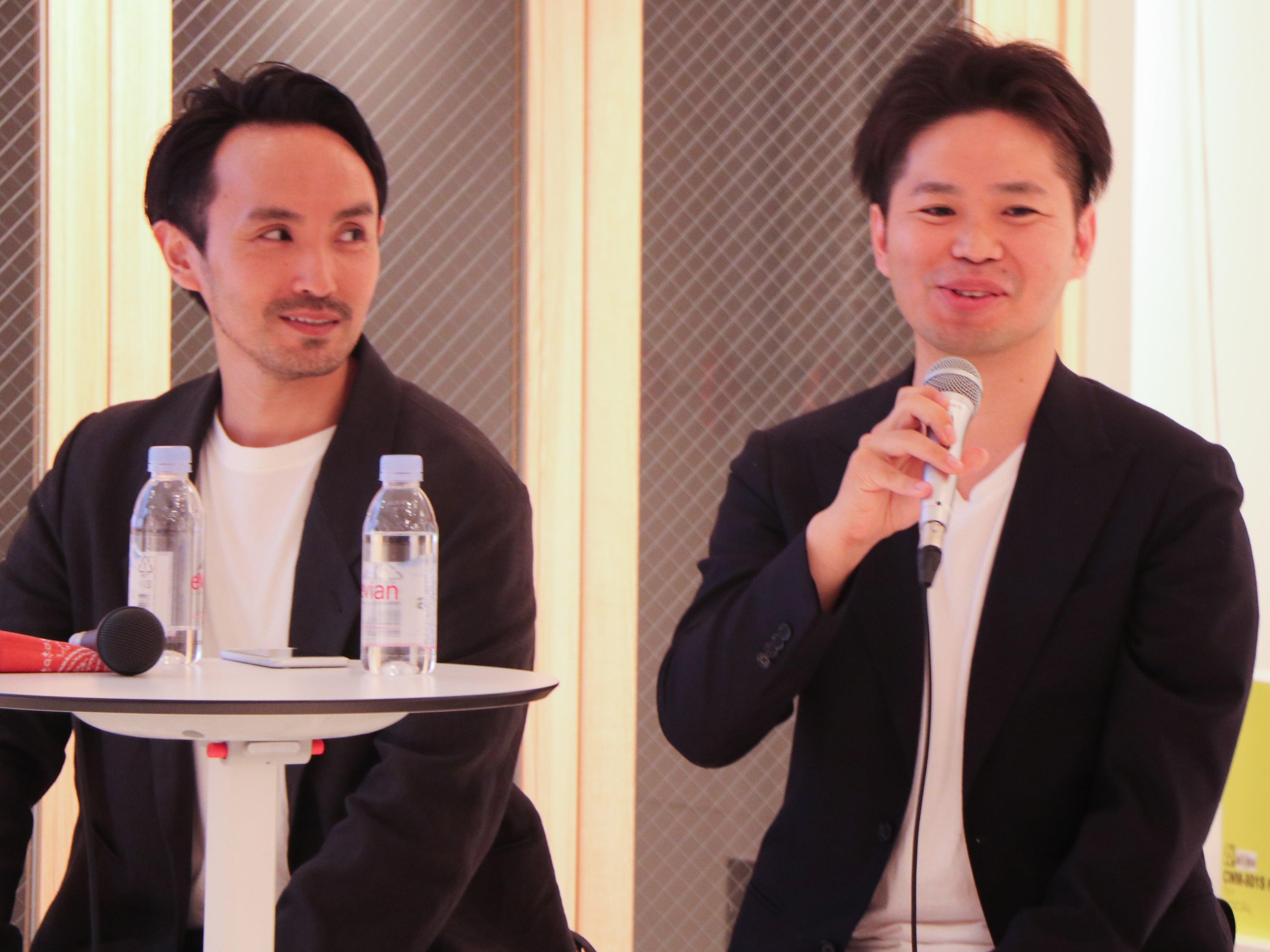 株式会社エフアイシーシー戸塚取締役と株式会社ユニセル細川代表取締役